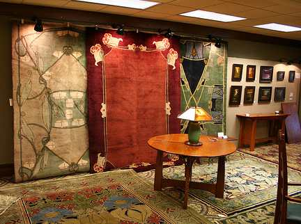2009 GPI booth with Knox carpets